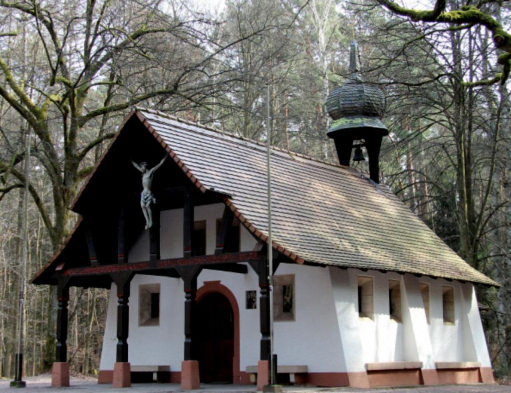 Foto der Obernauer Kapelle im Jahr 2014, Urheber Ekpah